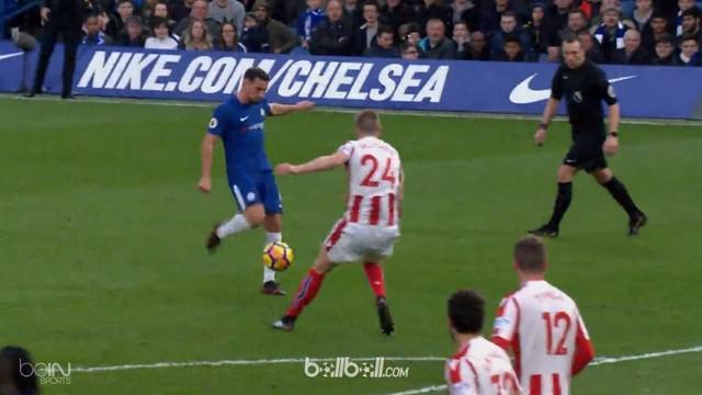 Berita video highlights Premier League 2017-2018, Chelsea vs Stoke City, dengan skor 5-0. This video presented by BallBall.