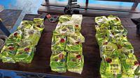 Badan Narkotika Nasional (BNN) bersama Direktorat Jendral Bea dan Cukai mengagalkan penyelundupan sabu di perairan Selat Malaka. Sebanyak 42 kilogram sabu disita dalam operasi tersebut. (istimewa)