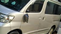Mobil Kepala Biro Hukum Komisi Pemberantasan Korupsi (KPK) Setiadi dirusak (Liputan6.com/ Nafiysul Qodar)