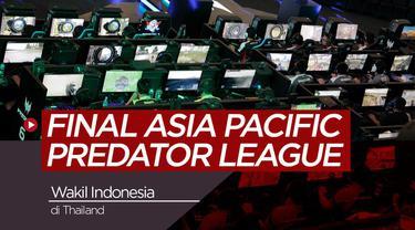 Berita Video Serunya Final Asia Pacific Predator League 2019