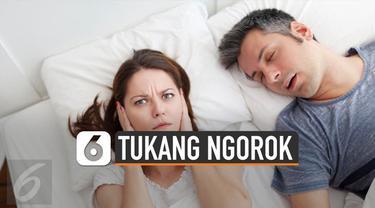Mendengkur merupakan salah satu masalah tidur yang dialami oleh banyak orang. Tidur bersama tukang ngorok pengaruhi kesehatan fisik dan mental.