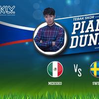 Fero Walandouw sangat yakin Meksiko bakal mengalahkan Swedia dengan skor telak
