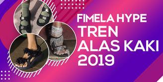 Sandal Turis, Tren Alas Kaki di Tahun 2019
