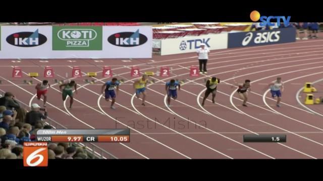Sprinter Lalu Muhamad Zohri raih medali emas di Finlandia, Menpora Imam Nahrawi janjikan beri hadiah dan bonus.