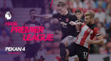 Berita video hasil Premier League 2019-2020 pekan ke-4. Manchester United ditahan Southampton 1-1, Liverpool menang Besar 3-0 atas Burnley.