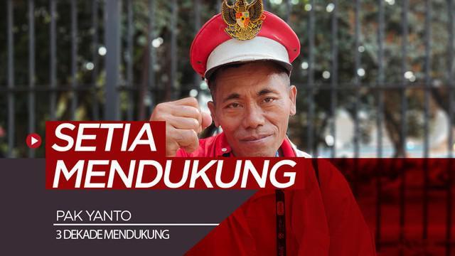 Berita video wawancara singkat dengan suporter yang telah mendukung bulu tangkis Indonesia selam 3 dekade, Pak Yanto, di Indonesia Open 2019.