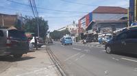 Tempat kejadian perkara (TKP) kecelakaan maut di Jalan Raya Ragunan, Pasar Minggu Jakarta Selatan, Sabtu (26/12/2020). (Liputan6.com/Ady Anugrahadi)
