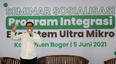Tommy Kurniawan Sosialisasi Sinergi Ekosistem BUMN Ultra Mikro di Kabupaten Bogor