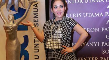 Syahrini Berdebar Manja Masuk Nominasi Sctv Awards 2015