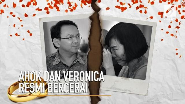 PN Jakarata Utara, mengabulkan gugatan cerai Ahok kepada Veronica.