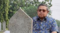 SBY kunjungi makam Ani Yudhyono/Instagram@ahy.id
