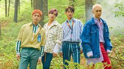 Tidak seperti album-album sebelumnya, album terbaru SHINee akan dibagi menjadi tiga mini album yang masing-masing berisi 5 lagu. (Foto: allkpop.com)