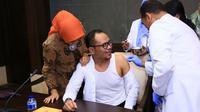 Kegiatan Vaksinasi Difteri merupakan respons atas mewabahnya bakteri difteri di beberapa daerah, termasuk di Jakarta.