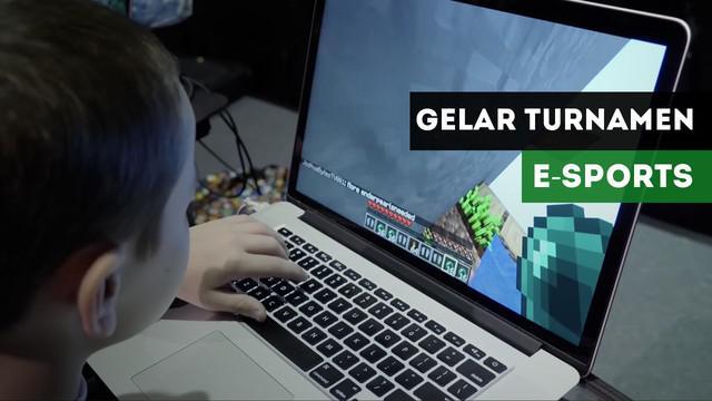 Christian Pineda membuat sebuah Liga E-Sports untuk gim Minecraft di New York, Amerika Serikat.
