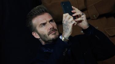 David Beckam dan Bella Hadid Nonton Bareng PSG VS Real Madrid