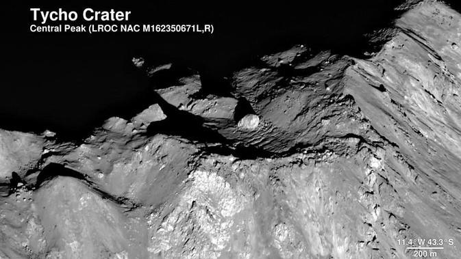Kawah Tycho. (NASA)