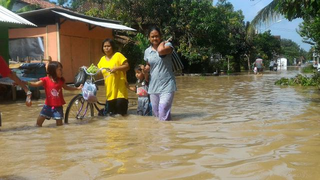 Ilustrasi - Banjir merendam dua desa di Cilacap, meliputi Desa Sidareja dan Desa Gunungreja. (Foto: Liputan6.com/Muhamad Ridlo).