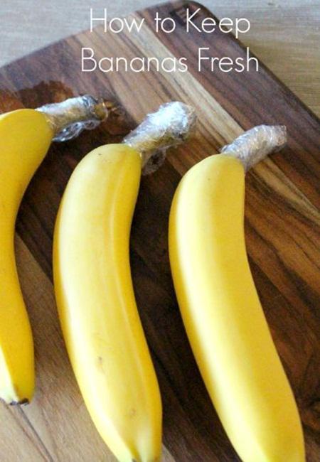 Tips pertama menjaga buah pisang tetap segar/ copyright Pinterest.com
