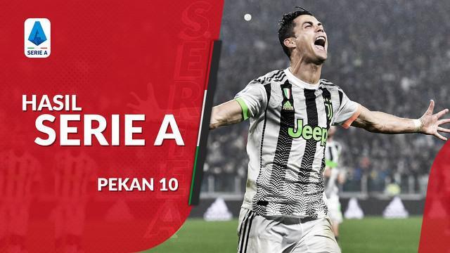Berita video hasil Serie A 2019-2020 pekan ke-10. Juventus menang tipis atas Genoa.