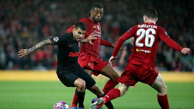 Jalannya pertandingan leg kedua 16 besar Liga Champions antara Liverpool vs Atletico Madrid