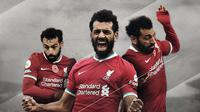 Pemain Liverpool: Mohamed Salah. (Bola.com/Dody Iryawan)