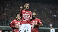 Winger Bali United, Miftahul Hamdi akhir-akhir ini benar-benar menjadi perbincangan lantaran penampilannya yang semakin hari semakin matang. (baliutd.com)