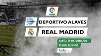 La Liga_Deportivo Alaves vs Real Madrid (Bola.com/Adreanus TItus)