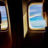 Ilustrasi kecantikan di pesawat (Pexels.com)