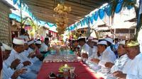 Lebaran Ketupat populer disebut Buka Sunnah oleh masyarakat Maluku Utara. (Liputan6.com/Hairil Hiar)