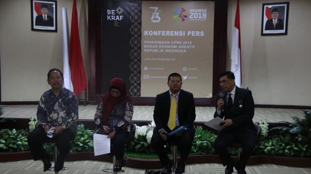 Siapa Minat Bekraf Buka 100 Formasi Lowongan Cpns 2018