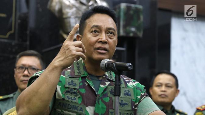 KSAD Mengungkap Awal Mula Munculnya Klaster Covid-19 di Secapa Bandung