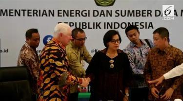 Pemerintah RI capai kesepakatan dengan PT Freeport Indonesia terkait perubahan status Kontrak Karya menjadi Izin Usaha Pertambangan Khusus.