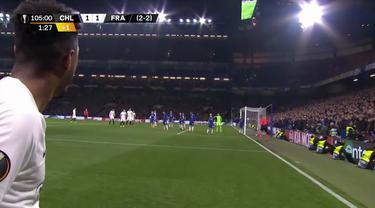 Berita video highlights semifinal leg kedua Liga Europa antara Chelsea melawan Eintracht Frankfurt yang harus diseleseikan dengan adu penalti dan berakhir dengan skor 4-3 untuk The Blues di Stamford Bridge, Kamis (9/5/2019).
