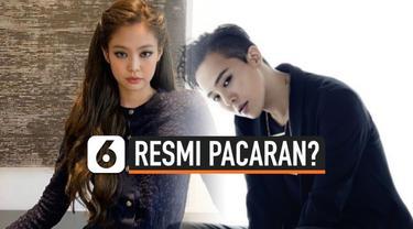 Sebuah media Korea Selatan menyebut Jennie BLACKPINK dan G-Dragon BIGBANG telah menjalin hubungan percintaan selama satu tahun. Namun YG Entertainment enggan memberikan jawaban.
