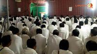 Ilustrasi jemaah haji wukuf di Arafah, Makkah. (Liputan6.com/Anri Syaiful)
