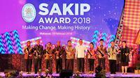 """Dalam SAKIP Award 2018, Pemerintah Kota Bitung memperoleh nilai 60,34 atau predikat """"B"""" dari Kementerian Pendayagunaan Aparatur Negara dan Reformasi Birokrasi (PANRB)."""