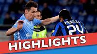 Video highlights Serie A Italia antara Lazio melawan Inter Milan yang berakhir dengan skor 2-0, Senin (2/5/2016) dini hari WIB.