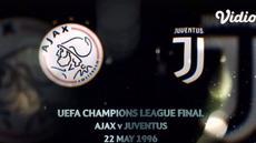 VIDEO: Flashback Liga Champions, Laga Dramatis Juventus Vs Ajax pada Partai Final 1996