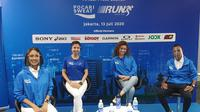 Virtual press launch Pocari Sweat Virtual Race Run 2020, Senin (13/7/2020).