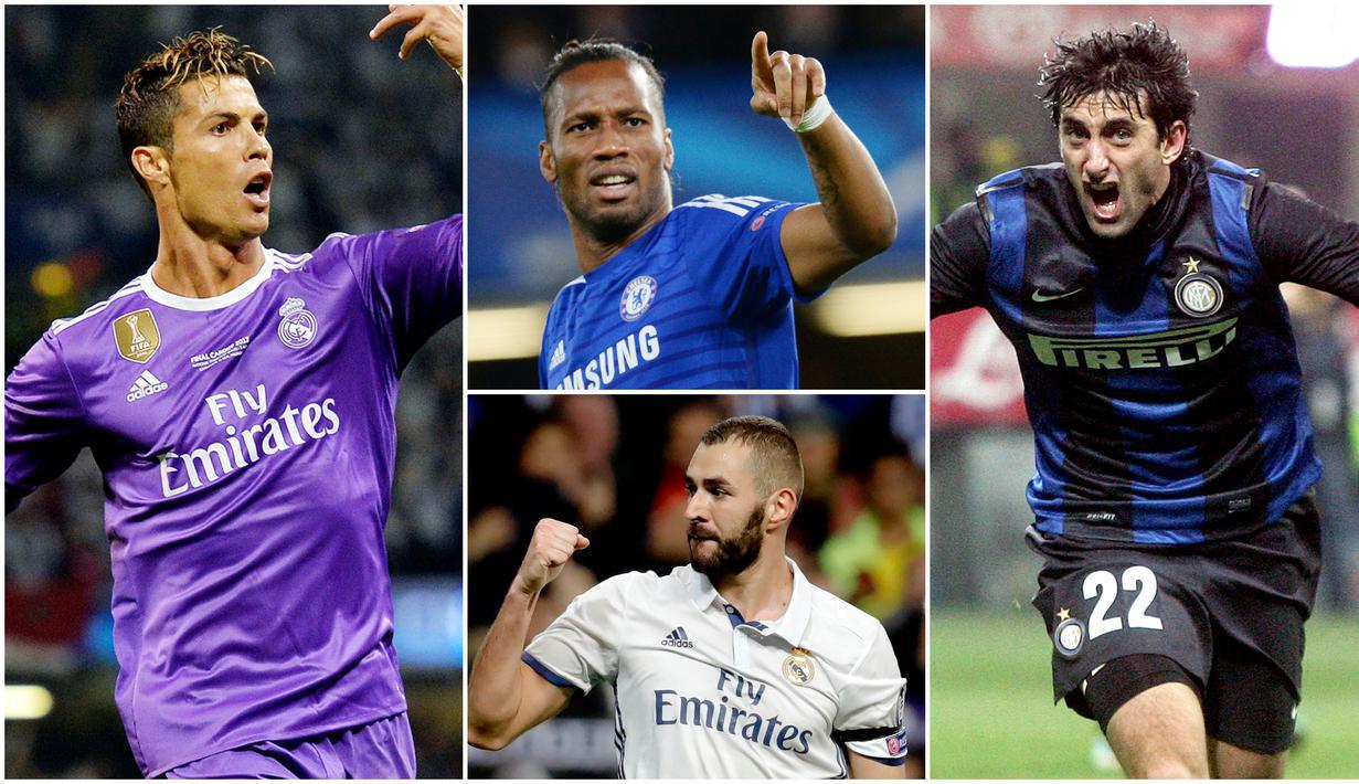 Jose Mourinho merupakan seorang juru taktik yang terkenal selalu memiliki satu striker andalan di setiap klub yang dilatihnya. Berikut ini daftar bomber andalan yang mampu mengukir kisah sukses bersama pelatih asal Portugal tersebut.