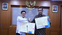 Nota kesepahaman antara Kemnaker dan APJATI ditandatangani Sekretaris Jenderal (Sekjen) Kemnaker, Hery Sudarmanto, dan Ketua Umum APJATI, Abdullah Umar Basalamah.