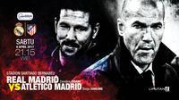 Real Madrid vs Atletico Madrid (Liputan6.com/Abdillah)