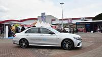 Mercedes-Benz E 350 e EQ Power saat di area test ride (dok. Mercedes-Benz)