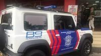 Suzuki Jimny Jadi Mobil Dinas Polisi. (Foto: Akun Instagram @suzukijimnyindonesia)