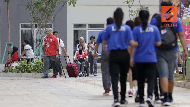 Kegiatan Atlet Asian Para Games 2018 di Wisma Atlet Kemayoran 9681dc079c
