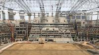Proyek pembangunan Jakarta International Stadium di Jakarta Utara. (Foto: Istimewa)