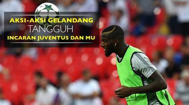 Video aksi-aksi gelandang tangguh AS Monaco yang diinginkan Juventus pada Januari 2017, Tiemoue Bakayoko.
