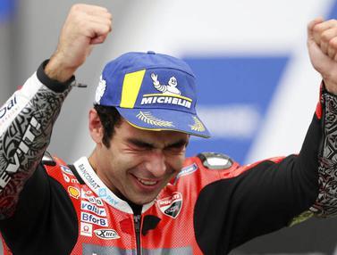 Danilo Petrucci Jawara MotoGP Prancis, Valentino Rossi Gagal Finis Lagi