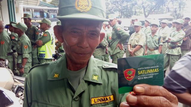 Beda Nasib Personel Hansip dan Linmas di Kota Malang Regional