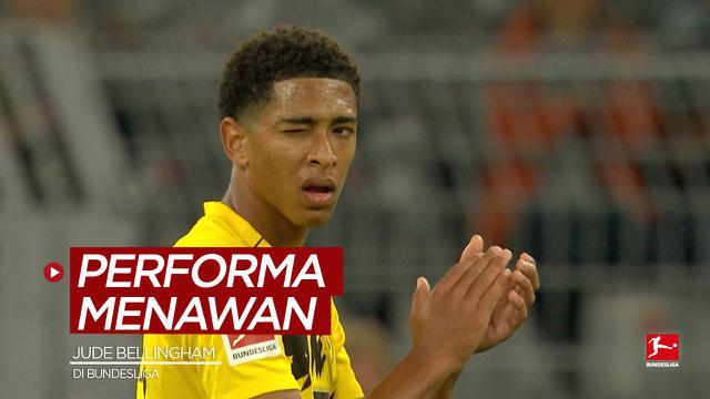 Cover untuk berita video kompilasi performa menawan bintang muda Timnas Inggris untuk Piala Eropa, Jude Bellingham, saat bermain di Bundesliga